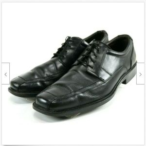 Johnston & Murphy Men's Dress Shoes Sz 10.5 Black